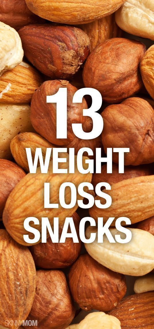 These 13 snacks can help you lose weight.