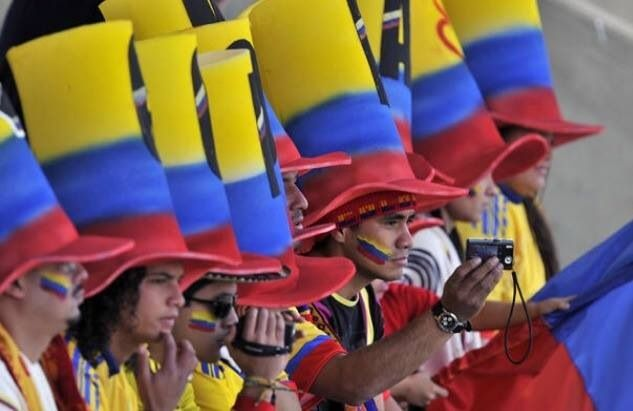 Colombia en el mundial 2014 :)