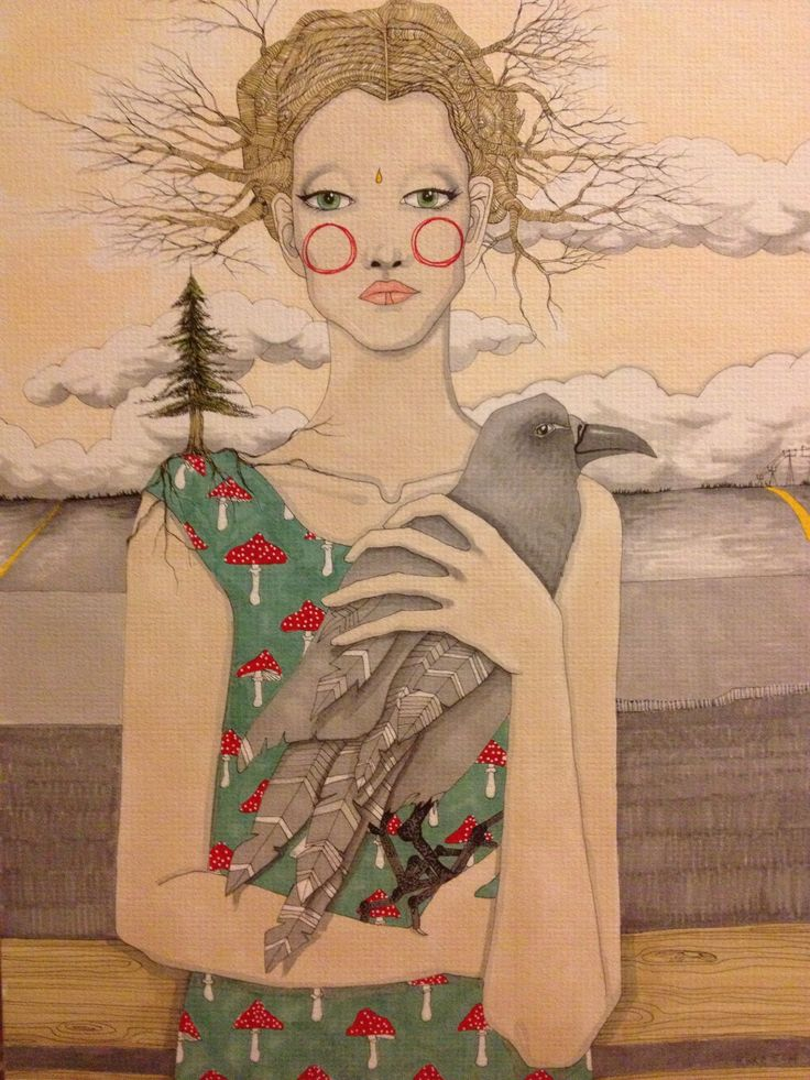 Caroline Cimen - Raven lillakolinin