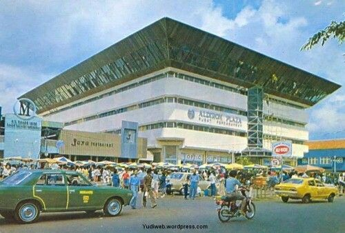 Aldiron, the first mall at Jakarta, Indonesia