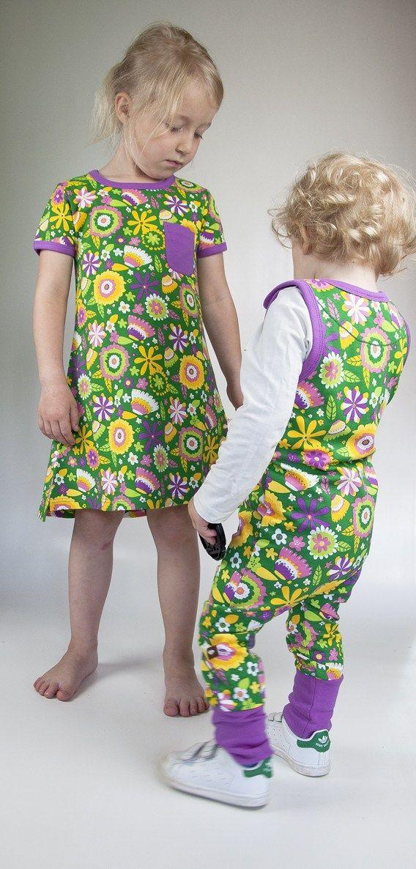 da31fdebd843 Moromini T-Shirt Dress Flower Garden