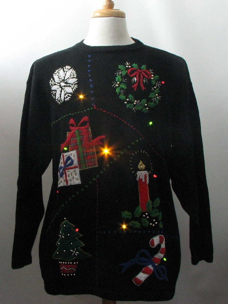 Pin on Ugly Christmas sweater ideas