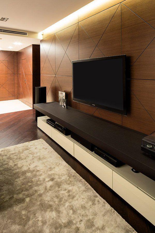 1000 ideas about modern tv wall on pinterest modern tv. Black Bedroom Furniture Sets. Home Design Ideas