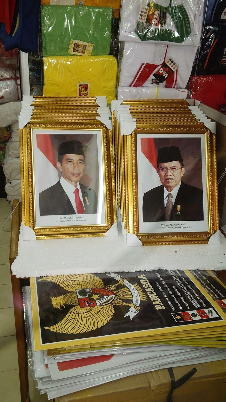 Jual Foto + bingkai Presiden Jokowi JK - MAHA KARYA ADVERTISING SENEN | Kami Menydiakan Segala Jenis Atribut Partai, Pilkda $ Grosir Tas