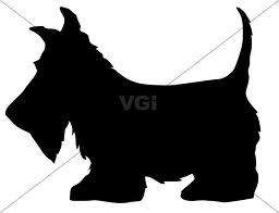scottie dog silhouette