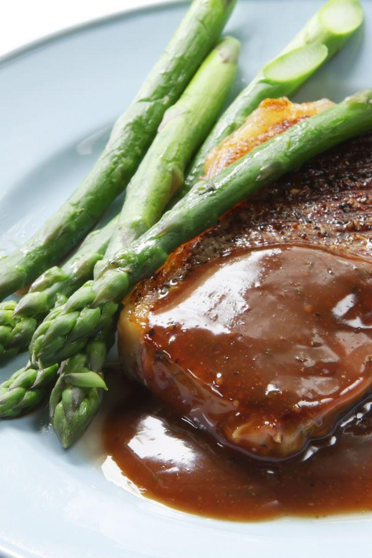Pan-fried Steak with Marsala Sauce Recipe