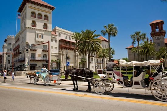 St. Augustine, FL There is LOTS to do and see here, great restaurants, and bed and breakfasts galore.