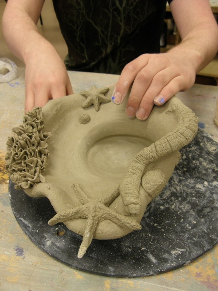 ceramic projects high school - 450×600