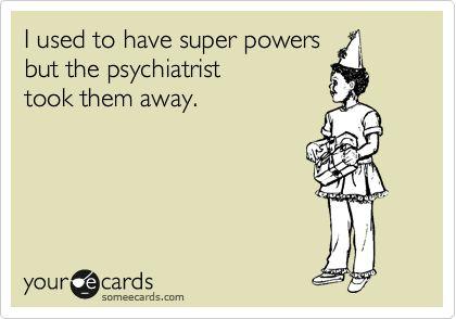 Psych nursing. Lol