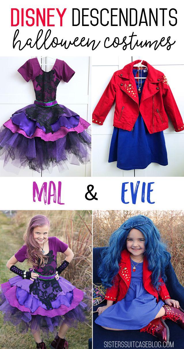 Halloween 2020 Disney Descendants Disney Descendants 2 Costumes: Mal & Evie in 2020 | Disney