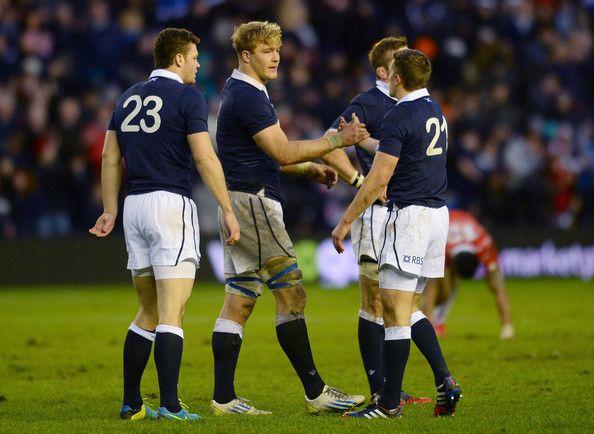 David Denton - Scotland v Japan - International Match