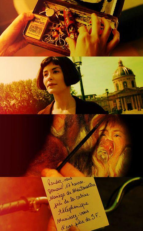 Amelie Poulain colors