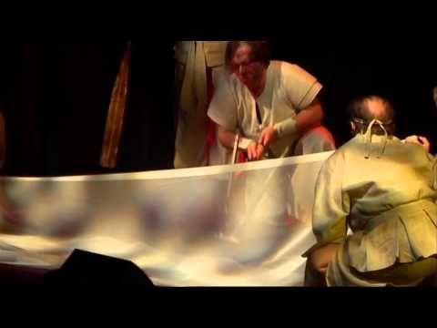 Kalevala Soikoon (the musical) part 12 - Sammon Taonta (Forging Sampo) - YouTube