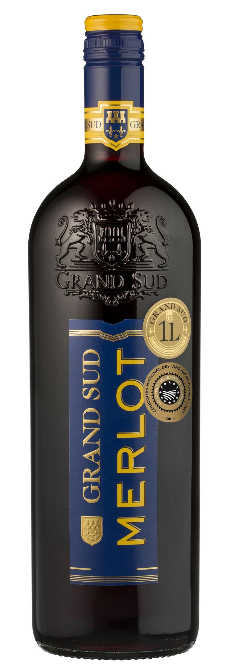 Ce #vin est le compagnon idéal de vos viandes blanches, volailles et grillades. #Merlot #GrandSud #2013