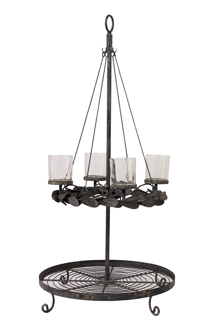Urban Trends Collection Metal Candle Holder UTC92095