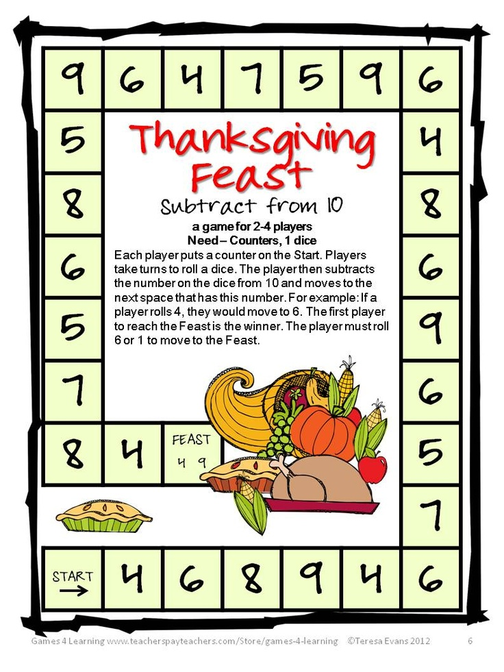 Brain teasers thanksgiving