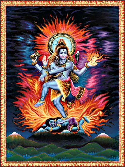 Fear Not. What is not real, never was and never will be. What is real, always was and cannot be destroyed.  Photo: Shiva