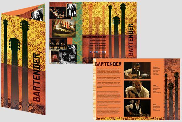 Bartender Brochure