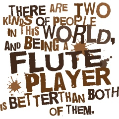 Personalized Flute T-shirts | School Music T-shirts And Gifts