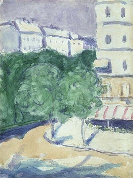 James Wilson Morrice, Street Corner, Paris