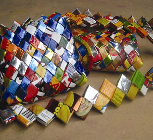 27 best reciclado images on pinterest paper projects - Manualidades de papel reciclado ...