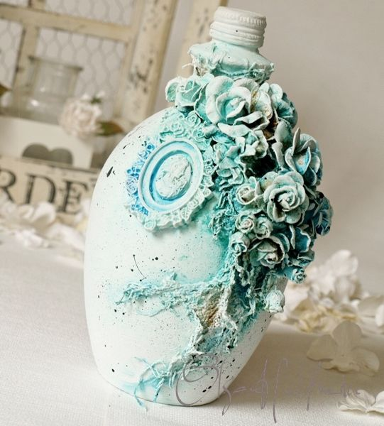Wild Orchid Crafts: Blue Bottle                                                                                                                                                      More