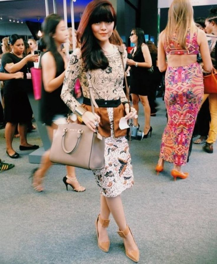 Sonia Eryka wearing bebaroque Tattooed Lady Lux Body Suit at New York Fashion Week