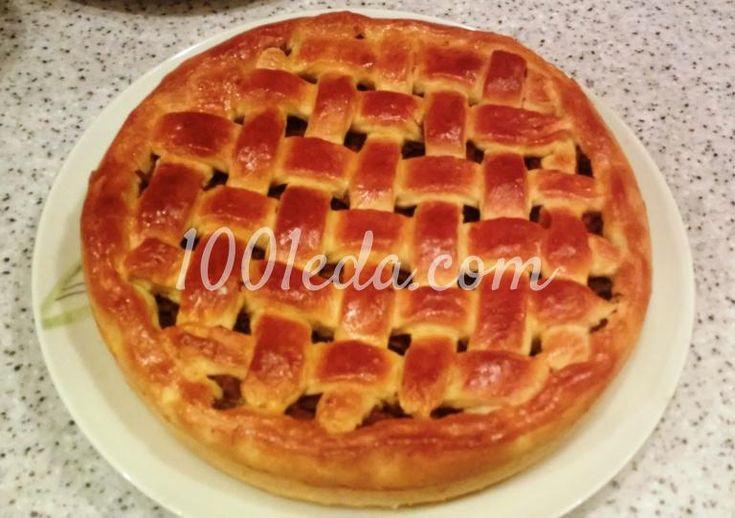 Пирог с индейкой и черносливом: рецепт с пошаговым фото