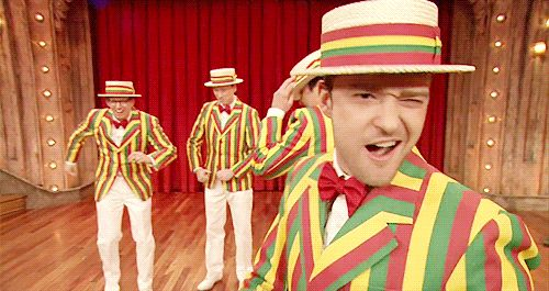 Pin for Later: 101 Justin Timberlake Moments You'll Never Forget When he joined Jimmy Fallon's quartet.