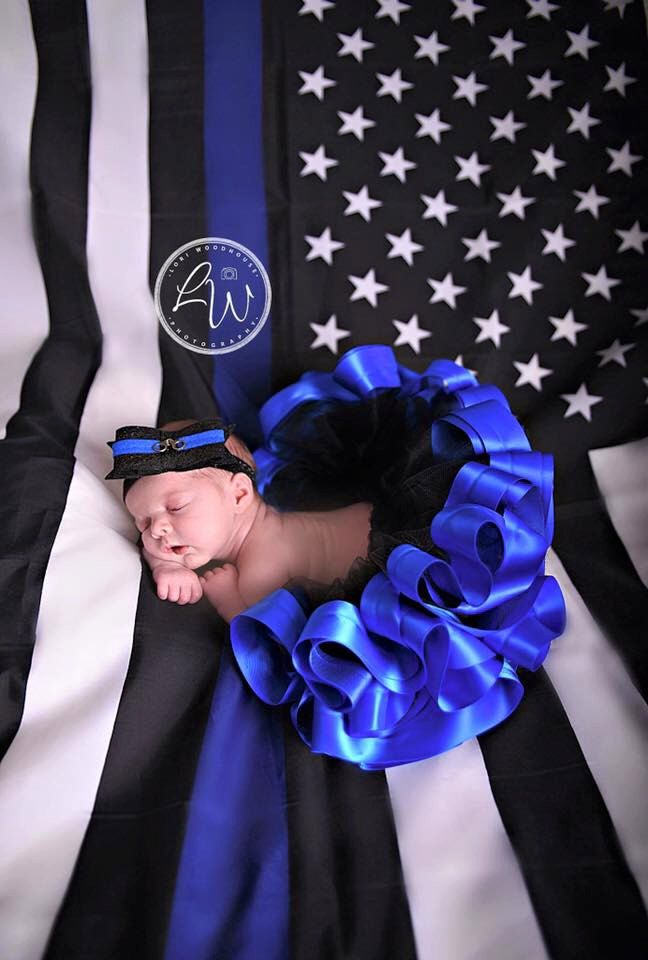 Thin Blue Line Tutu Police Baby Girl Tutu Police Kid Girl Outfit Law Enforcement…