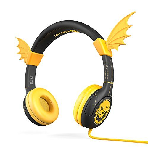 iClever BoostCare Kids Headphones Halloween Over the Ear Headsets with Volume Limiting Technology #deals