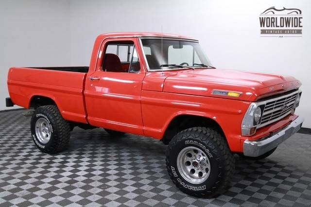 1967 Ford F100- ok you have to admit this truck is pretty sweet!