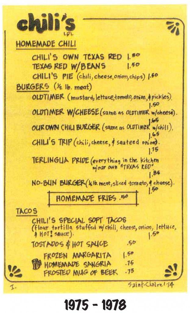 Original Chilis Restaurant Location On Greenville Avenue Bites The
