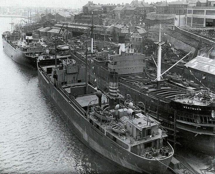 Pontoon Dock Sunderland 1903