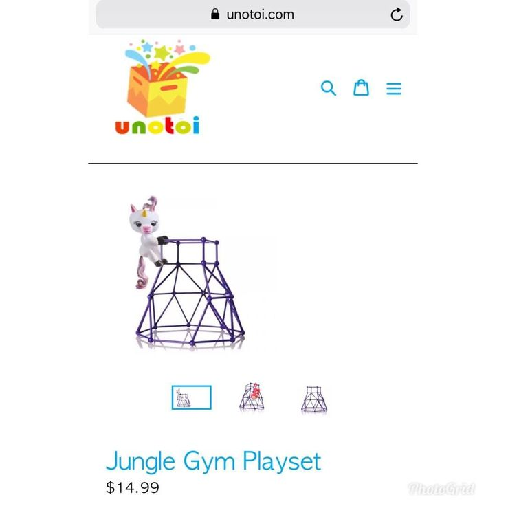 NEW PRICE ALERT  Now your friends can have a jungle gym!! Limited time only $14.99  FREE SHIPPING  #unotoi #fingerling #fun #kidstoys #SlimeKit #Unotoi #Kidstoys #Fun #Slime #toys #toysrus #children #play #happy #birthday #fingerlings #houston #texas