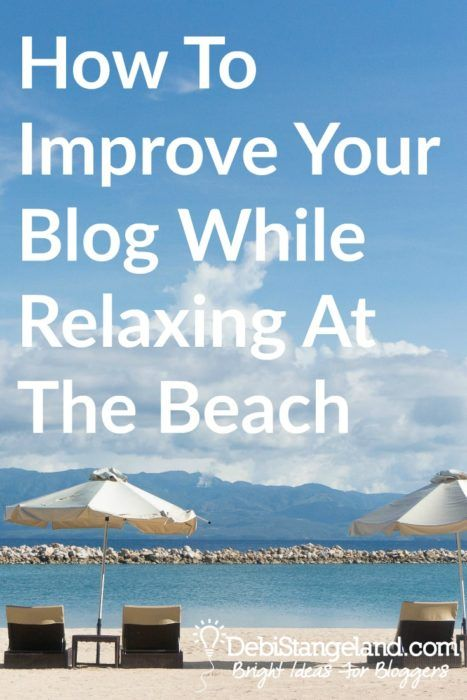 How To Improve Your Blog While Relaxing At The Beach ★ Improve your blog while you lay in the sun, dip your toes in the pool, or stretch lazily on the sand. These books will help you learn and grow this summer so you can hit the ground running this fall when blog traffic is at it's peak. ★ Learn HOW To Blog ★