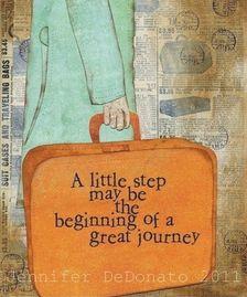 Als je de eerste stap niet neemt, zal er niks veranderen. Durf de eerste stap te nemen, hoe klein deze eerste stap ook is. En je zult merken dat je de energie krijgt om door te gaan.
