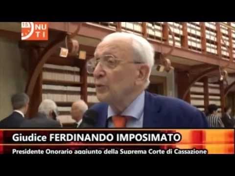 Il giudice Ferdinando Imposimato spiega con estrema lucidità perché vota...