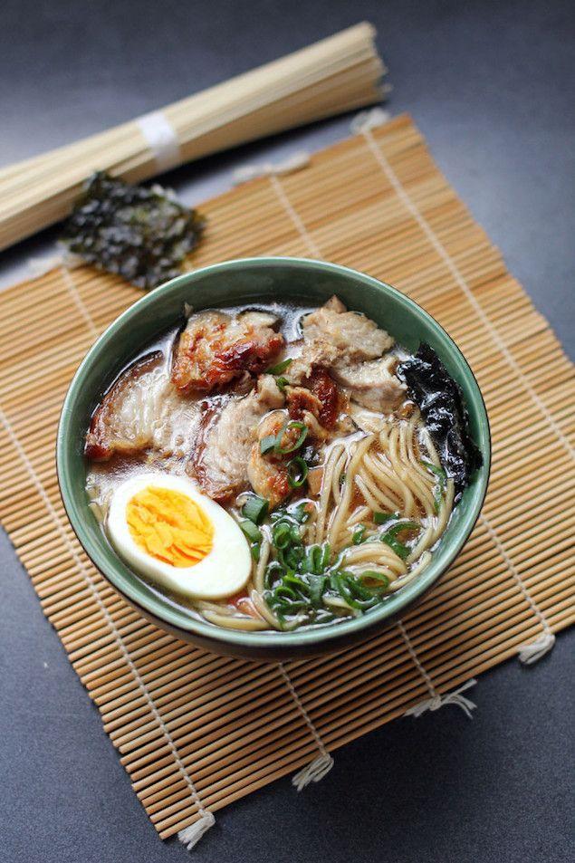 shoyu ramen Pour apprendre à cuisiner japonais : http://amzn.to/2kT1eNM