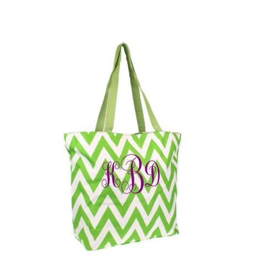 Monogrammed Tote Bag, Personalized Tote Bag, Shopping Tote, Medium Size Tote Bag, Tote Bag, Shoulder Bag, Shopping Bag, Carry On Bag, Book