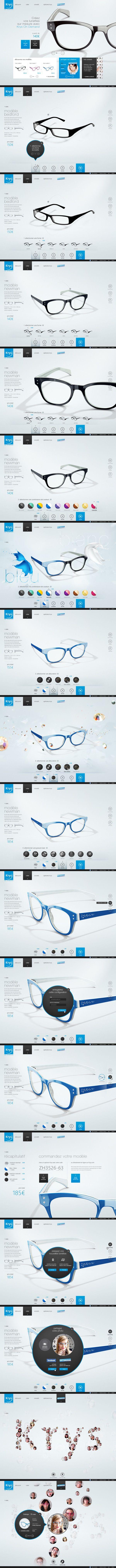 Krys Configurator webdesign
