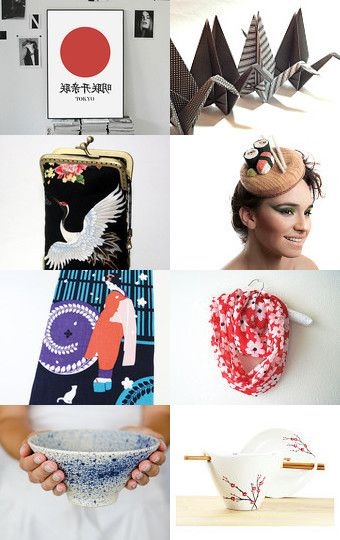 Sakura Land by Mandarina on Etsy--Pinned with TreasuryPin.com