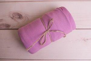 Różowa elastyczna dzianina 160x150 cm