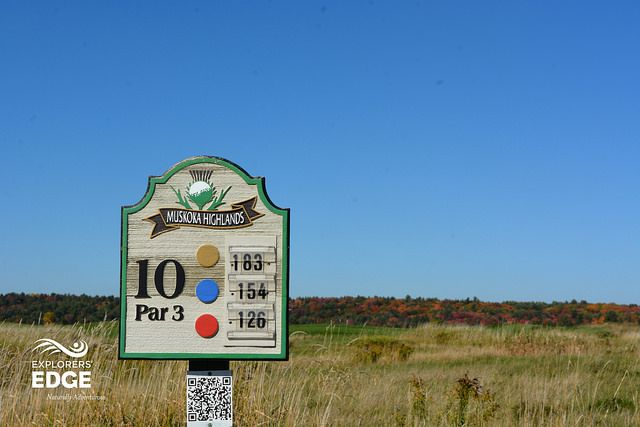 Fall Golf at Muskoka Highlands Golf Course