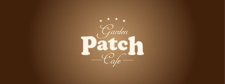 Garden Patch Cafe logo designed by War Cry Studios as a mock cafe, just for a bit of fun.