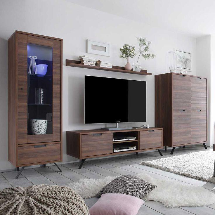 Die besten 25+ Nussbaum Schränke Ideen auf Pinterest Nussbaum - wohnzimmerschrank modern wohnzimmer