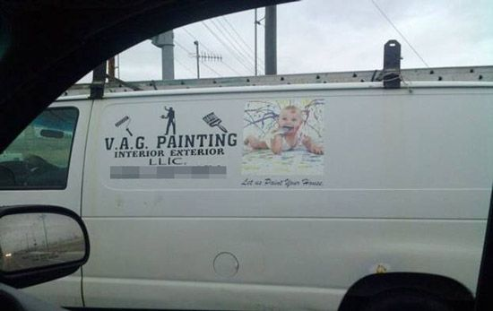 VAG painting.Vag Painting, Funny Signs, Baby Painters, Funny Stuff, Funny Photos, Signs People, 100, Training Baby, The Roller Coasters