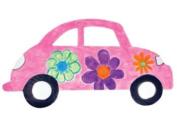 A fun activity to do with mum on Mother's day with these paper cars