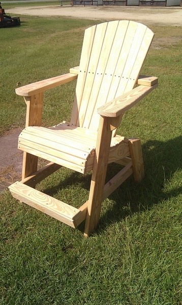 Tall adirondack chair plans woodworking projects plans for Tall patio chairs sale