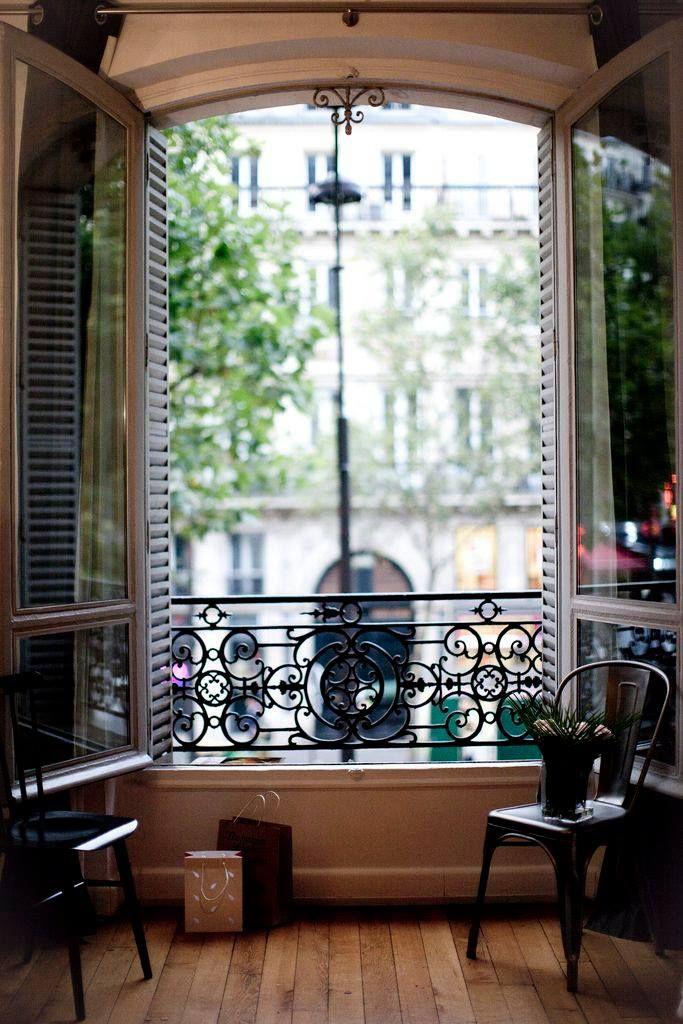 Французские окна-балконы - они восхитительны!